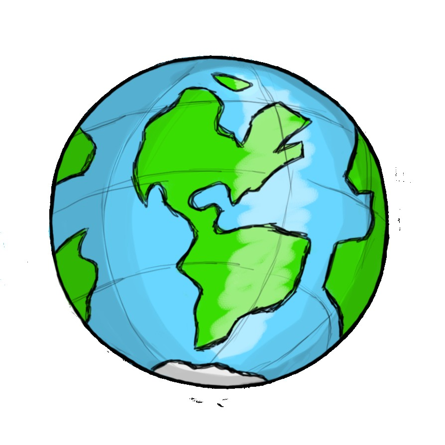 Globe clipart. Haydanhthoigian net