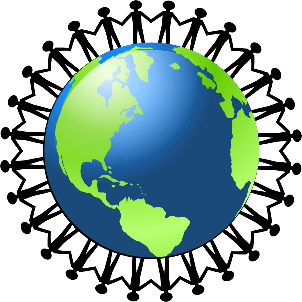 Globe clipart face. Hand holding gallery by