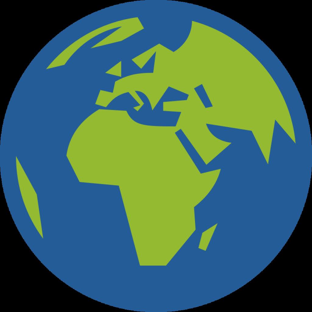 Earth clip art free. Globe clipart heart