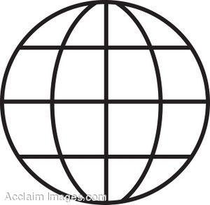 Art free download best. Globe clipart line