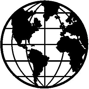 Free cliparts black download. Globe clipart line