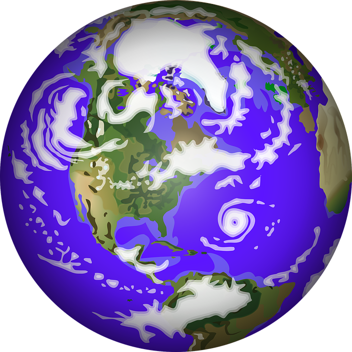 Hurricane clipart cartoon. Atmosphere planet earth free