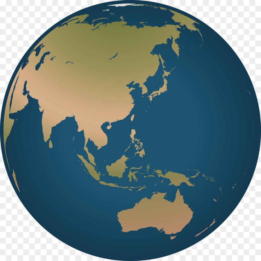 globe clipart simple