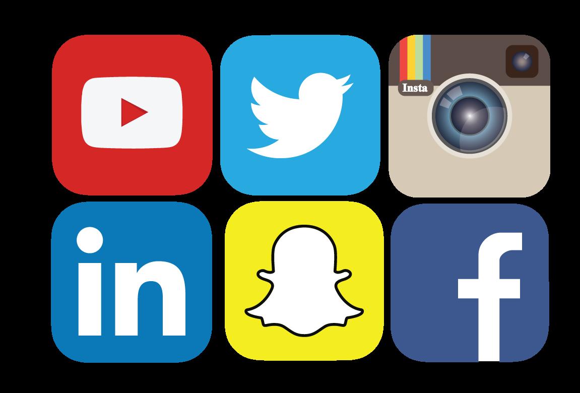 Media icons technology pinterest. Memories clipart social