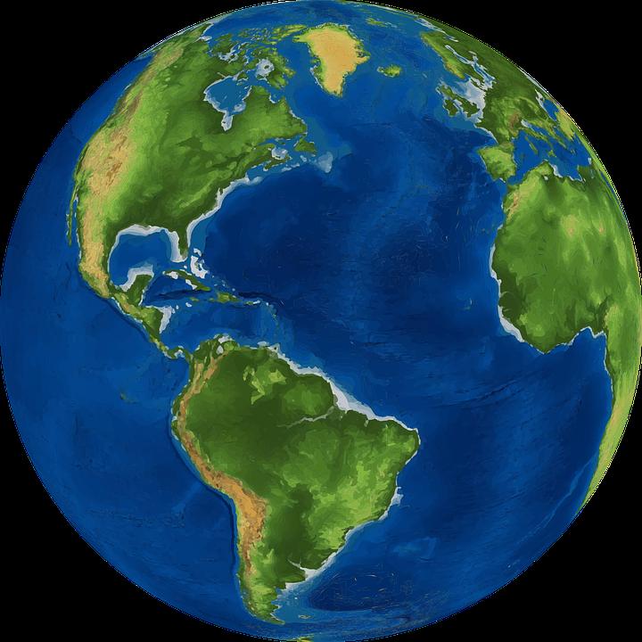 d world future. Globe clipart watercolor