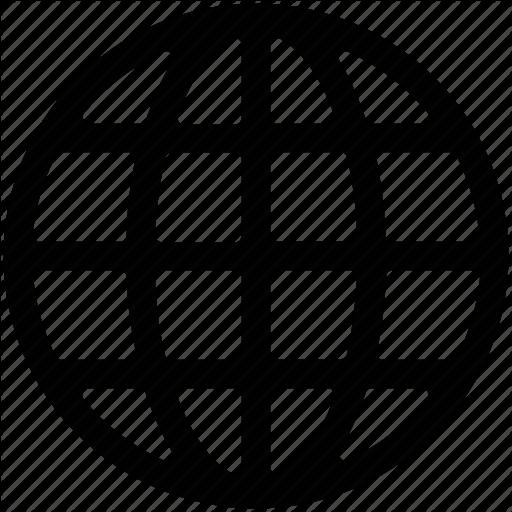 Globe icon png. Cloud computing vol by