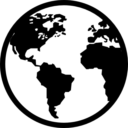 Earth free shapes icons. Globe icon png