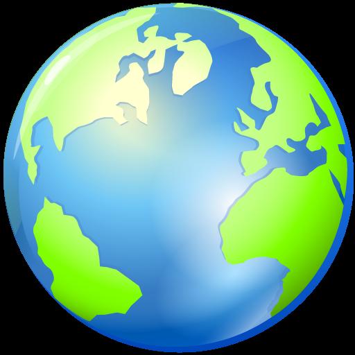 Free social media icons. Globe icon png