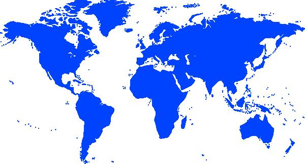 World map clip art. Globe vector png