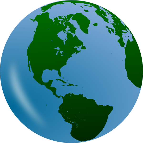 Globe vector png.