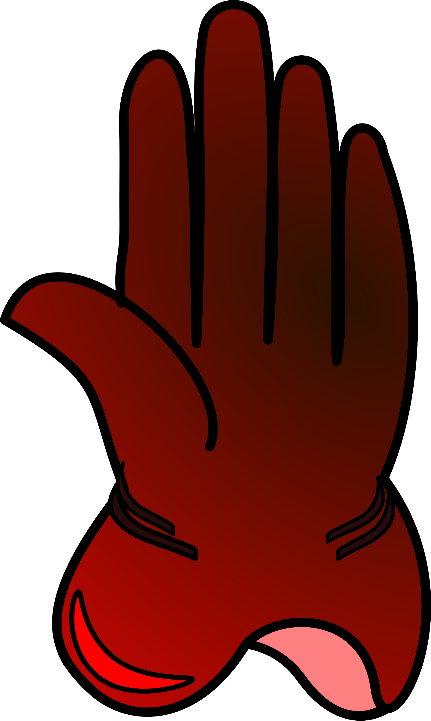Glove clipart. Big image png