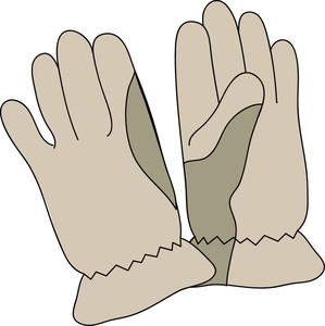 Glove clipart. Clip art free panda