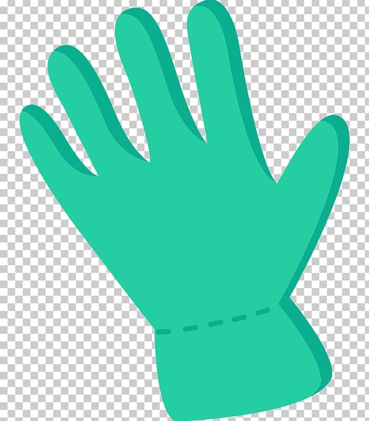Green blue cartoon png. Glove clipart animated