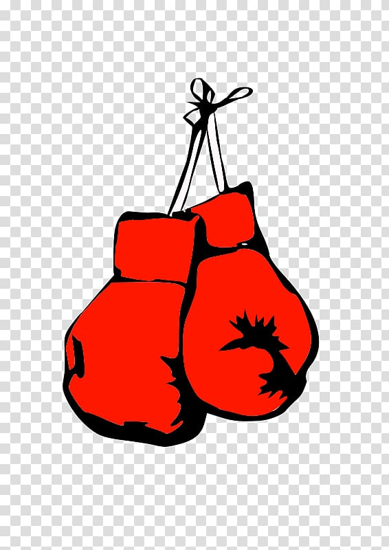 Glove clipart animated. Pair of red sparring