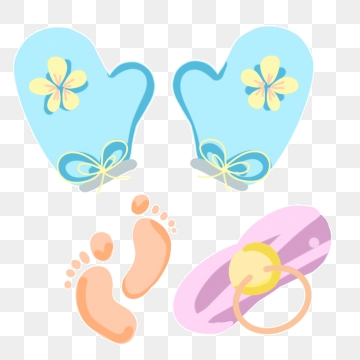 Free download soft png. Gloves clipart baby
