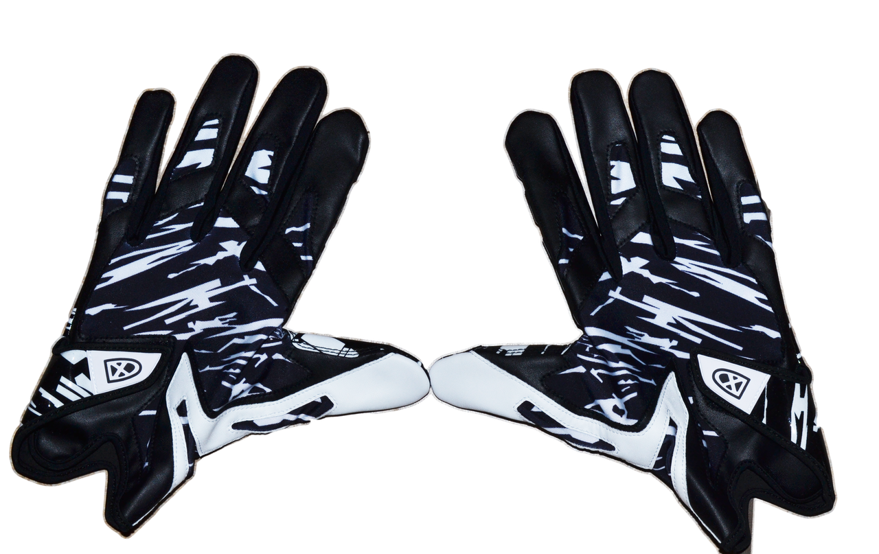 Ball out football gloves. Glove clipart blue glove