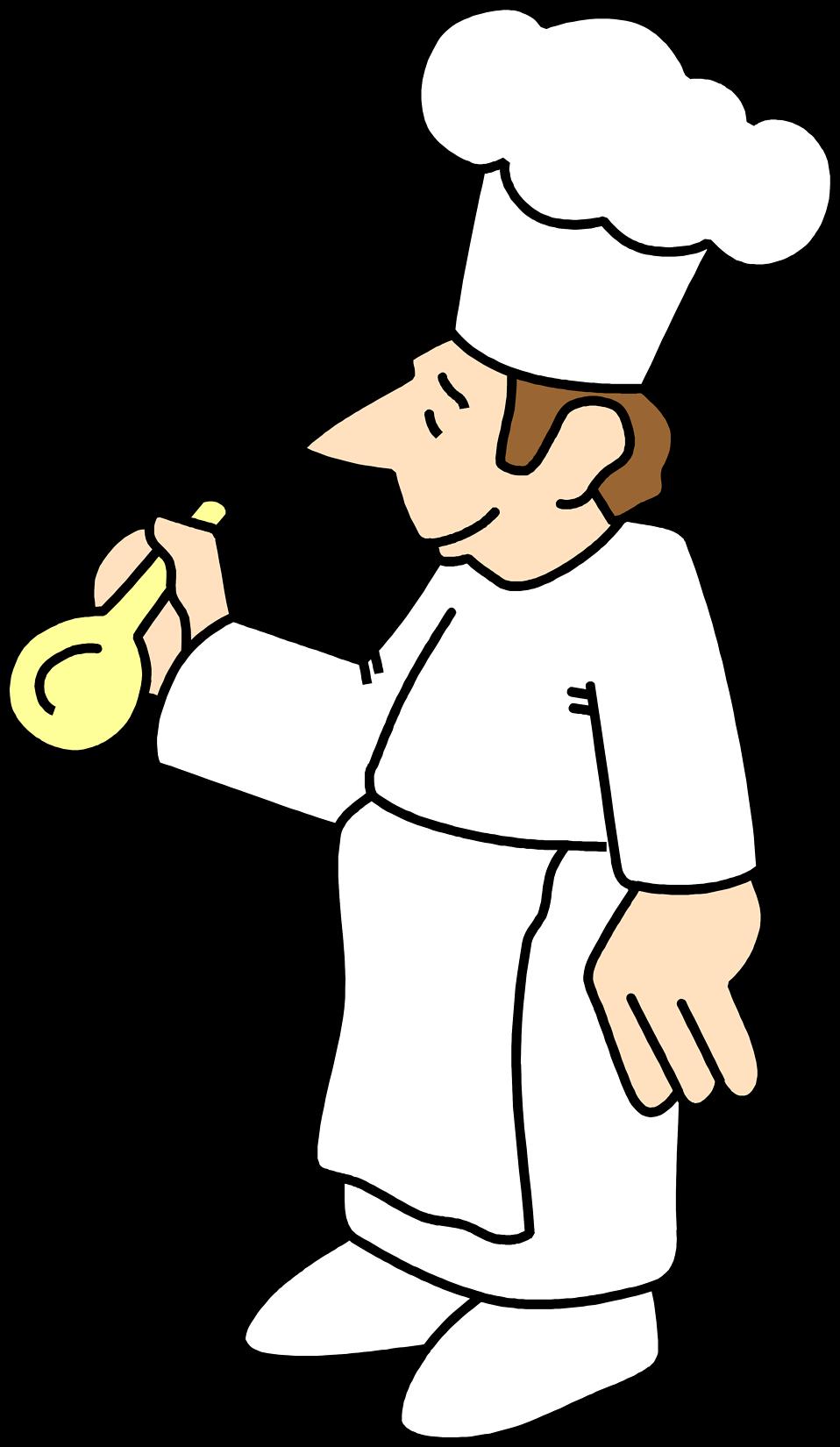 Free stock photo illustration. Glove clipart chef