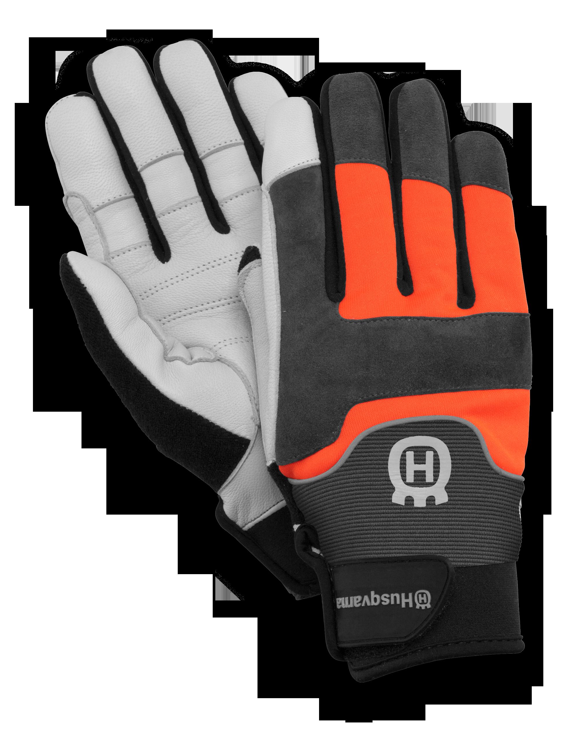 Glove clipart cloth. Husqvarna gloves technical work