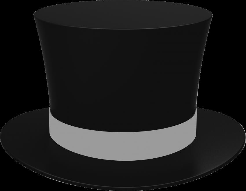 Black cylinder png free. Gloves clipart coat hat