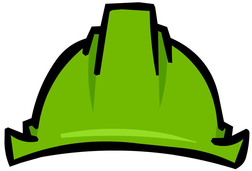 Glove clipart construction. Builders hat green hard