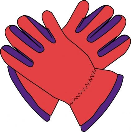 Mittens clipart hand glove. Winter gloves panda free