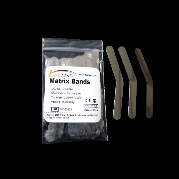 Life dispo matrix bands. Glove clipart dental