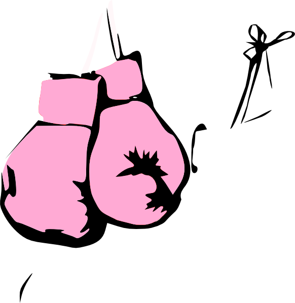 Glove clipart file. Pink boxing gloves clip