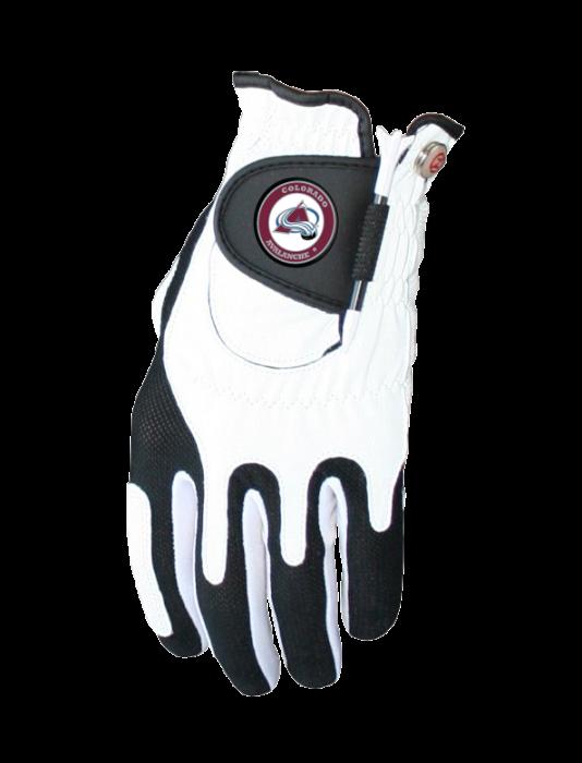 Gloves clipart golf glove. Colorado avalanche