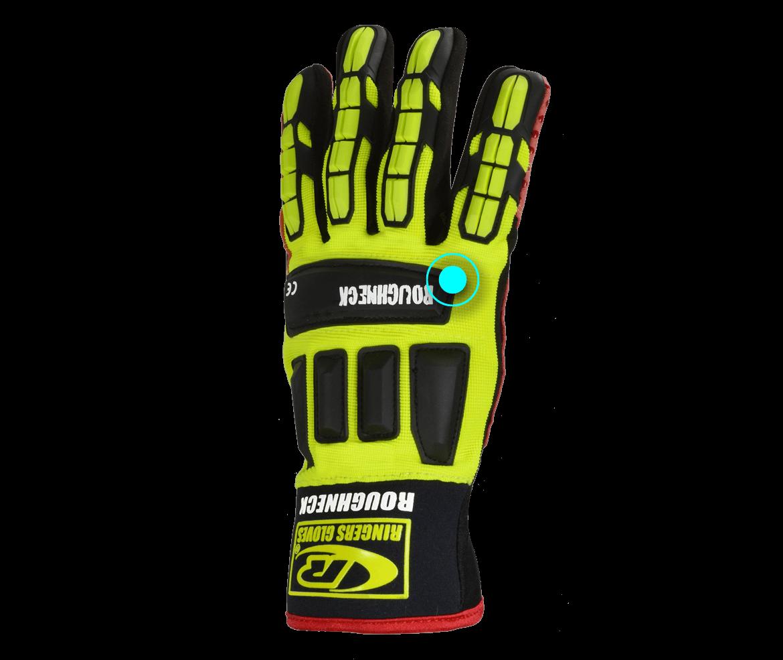 F technology safety gloves. Glove clipart laboratory glove