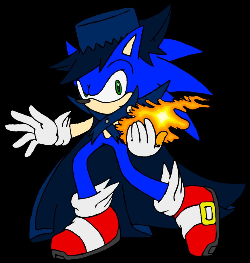 Glove clipart magician. Sonic the hedgehog v