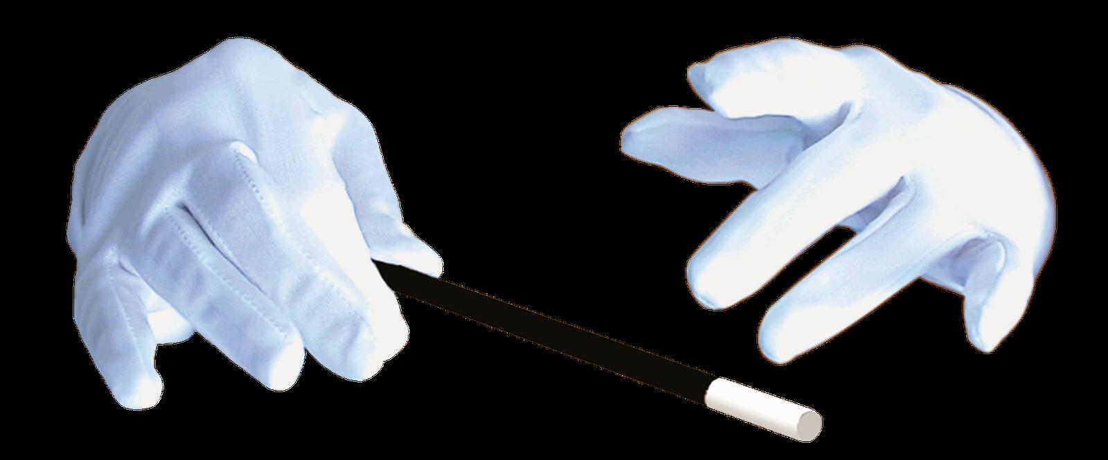 Viewing no wrong s. Glove clipart magician