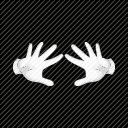 Magic clipart magic hand. Cartoon white transparent clip