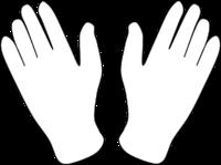 Glove mime
