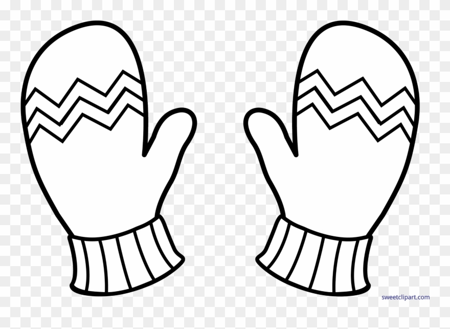 Mitten clip cute gloves. Mittens clipart coat