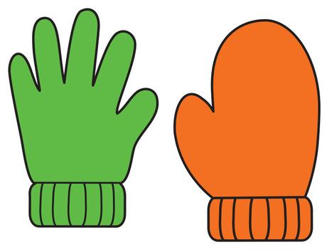 Make mine give me. Mittens clipart hand glove