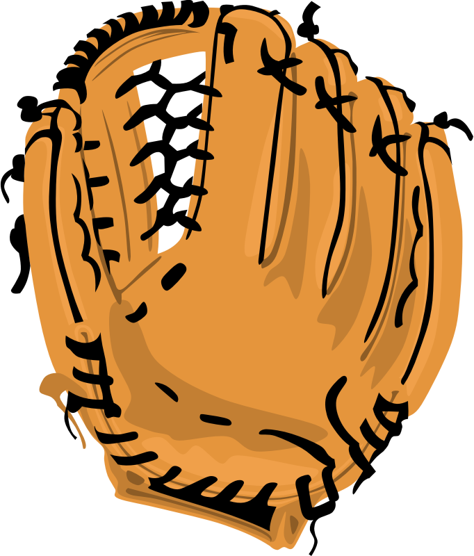 Gloves clipart party. Image for baseball glove