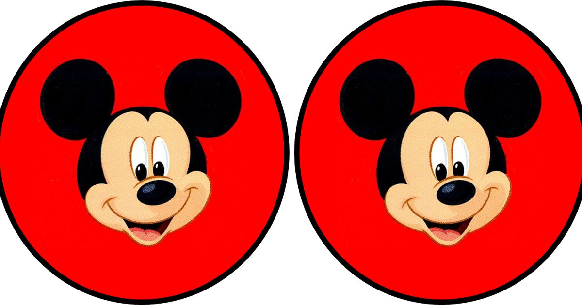 Gloves clipart party. Mickey in red free