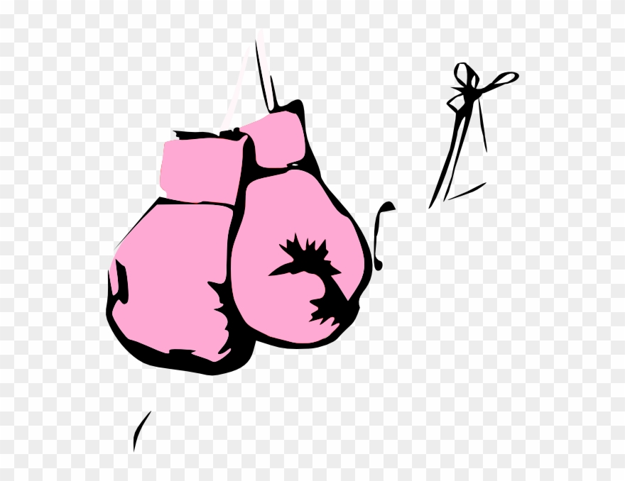Glove clipart pink glove. Boxing clip art hanging