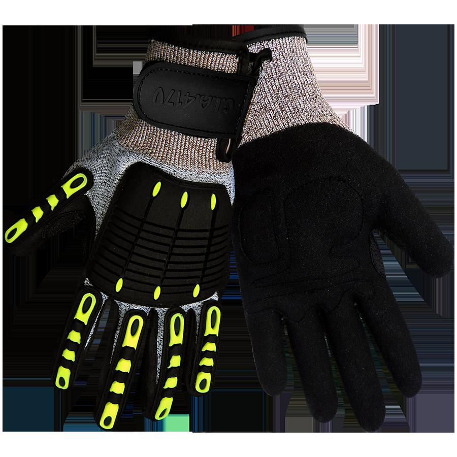 Latex allergy nitrile vs. Glove clipart ppe