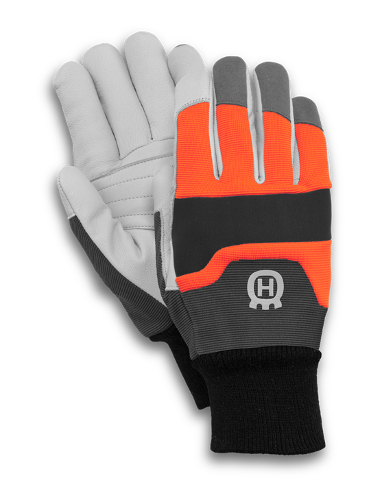 Gloves functional with saw. Glove clipart ppe