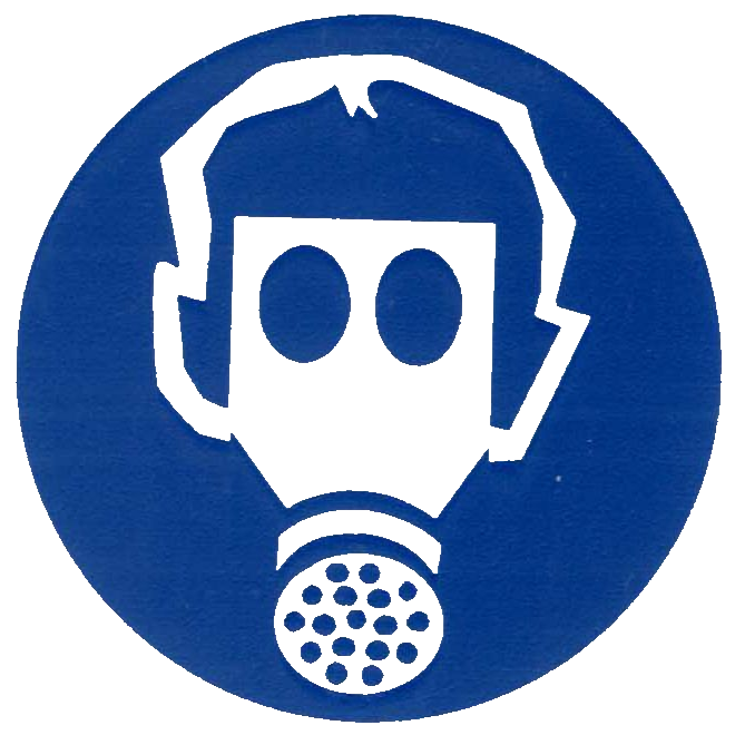 Protective symbols . Glove clipart ppe