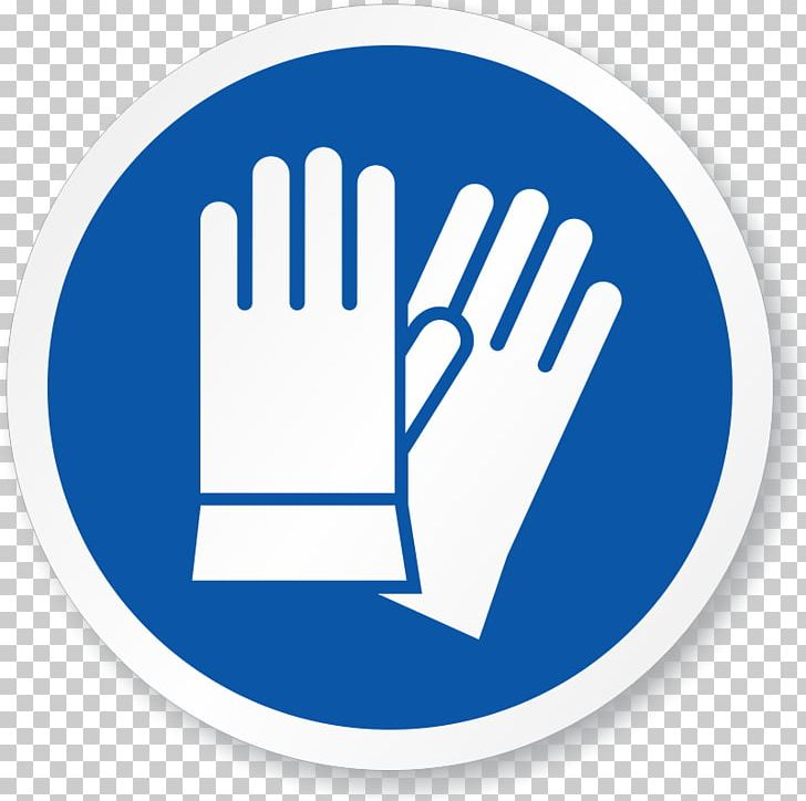 Safety personal protective sign. Glove clipart ppe equipment