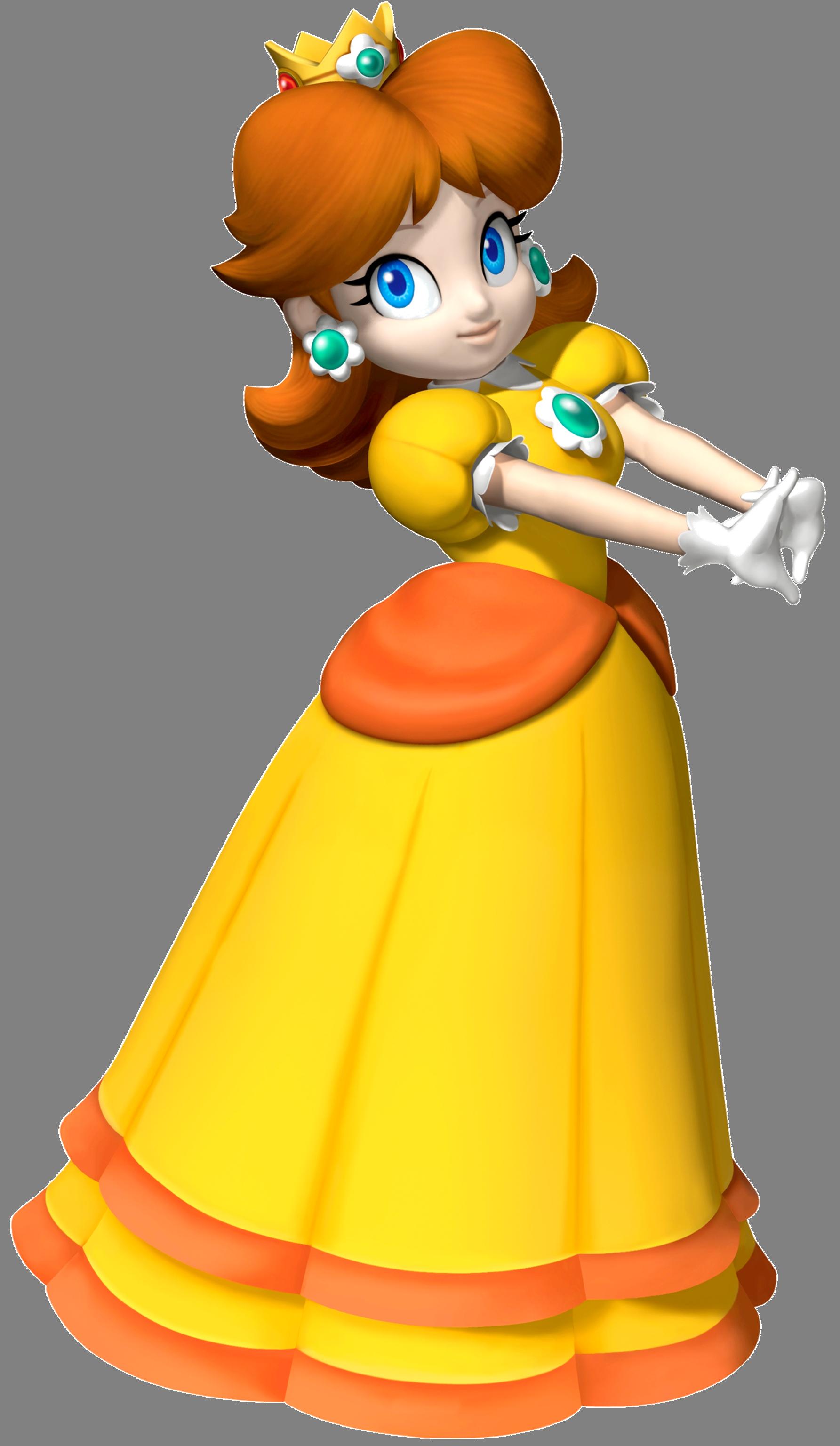 Daisy racist mario wiki. Glove clipart princess