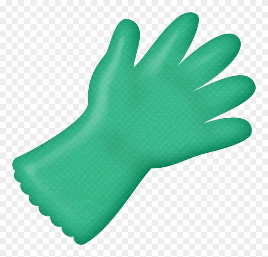 Gloves clipart rubber glove, Gloves rubber glove ...