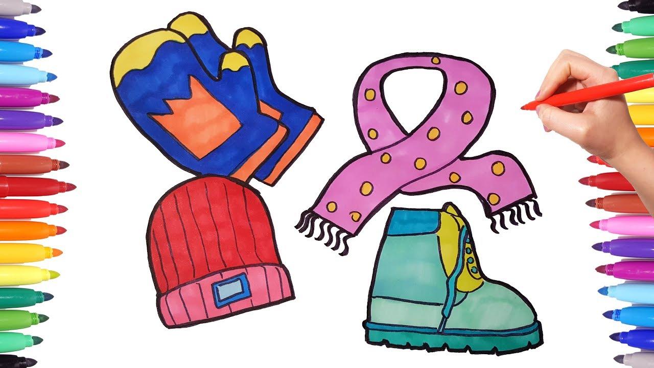 Glove Clipart Season Clothes Glove Season Clothes