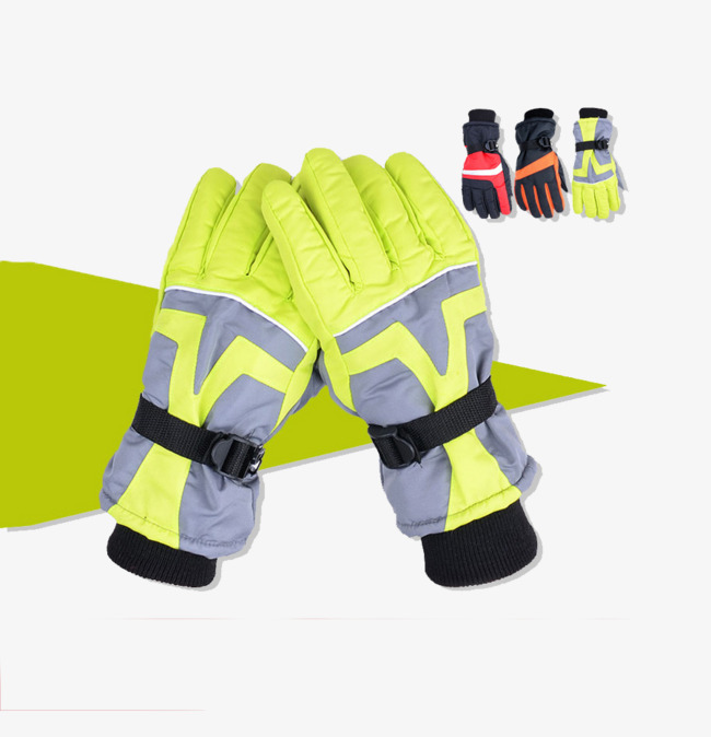 Glove clipart ski glove. Gloves warm green png