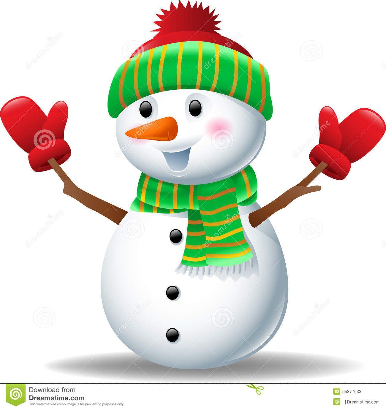 Hat clip art cartoon. Glove clipart snowman