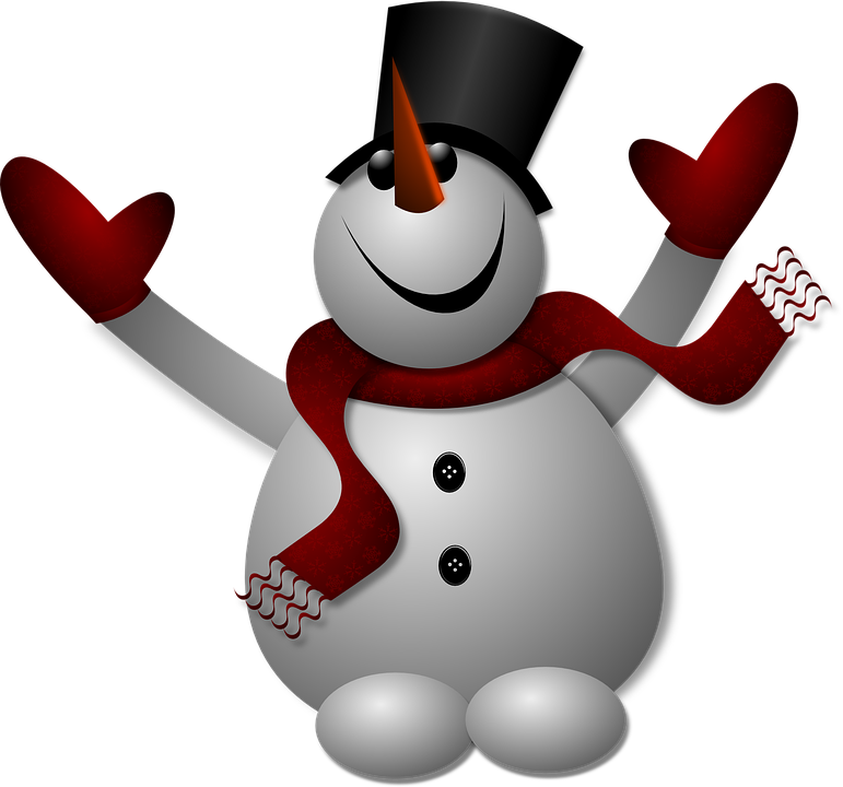 Free image on pixabay. Gloves clipart snowman
