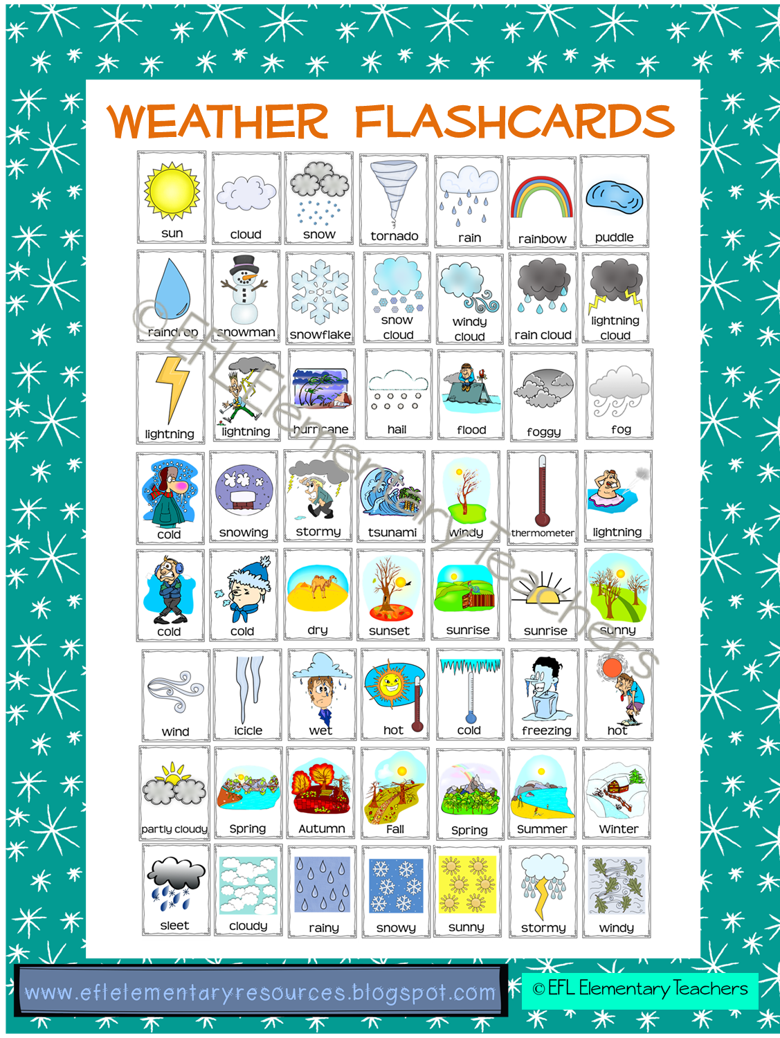 Gloves clipart snowy clothes. Efl elementary teachers weather