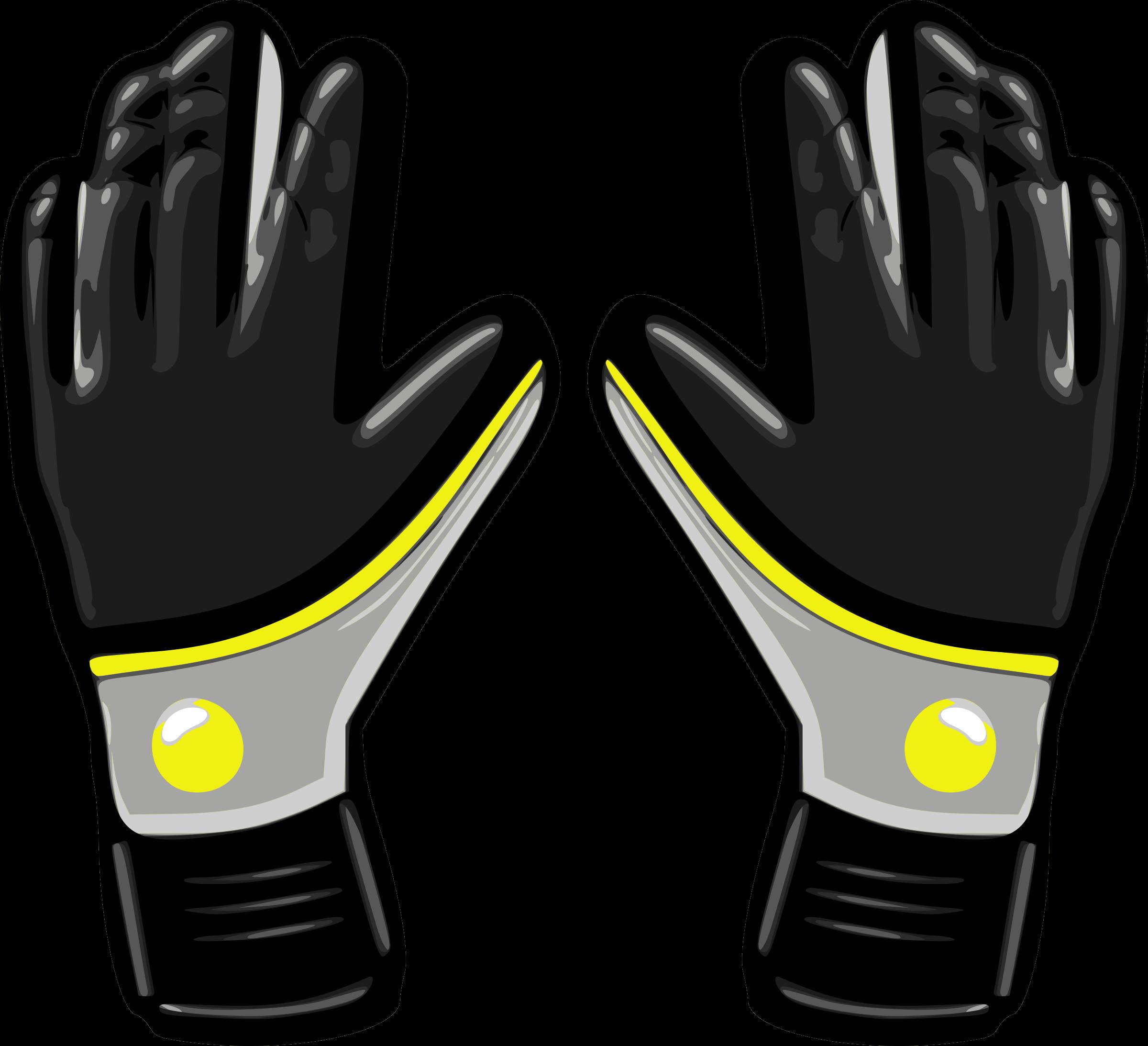 Glove clipart soccer glove. Gloves big image png